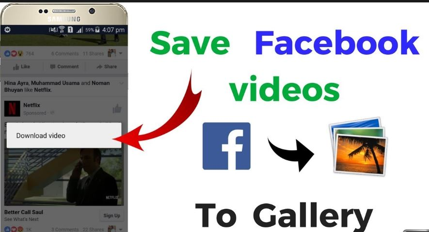 How to Save Facebook Video