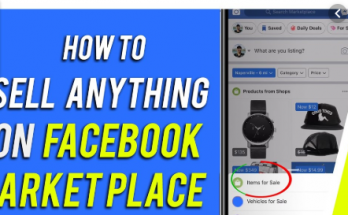 how do i sell on facebook marketplace