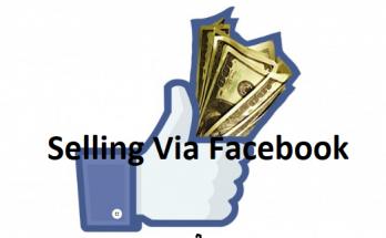 selling via facebook