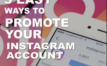 How To Promote Your Instagram Account