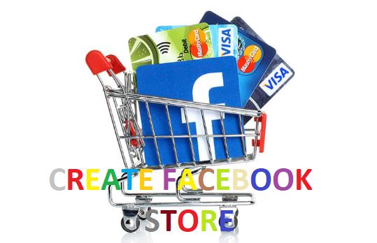 Create Facebook store