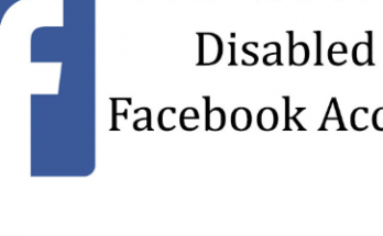 disabled facebook account