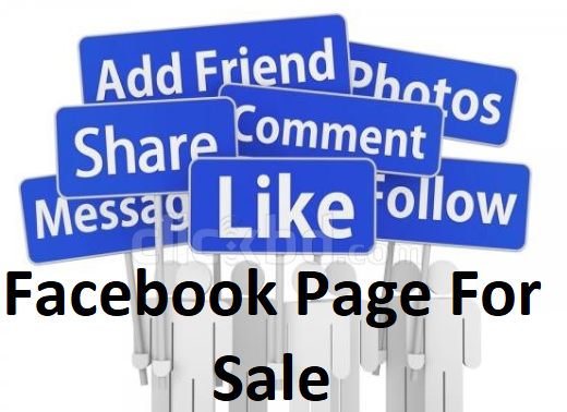 Facebook Page for Sale