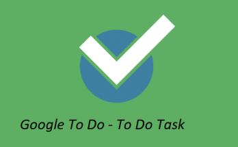 google to do task