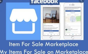 Marketplace Item For Sale | Facebook Marketplace | Buy and Sell Items Locally