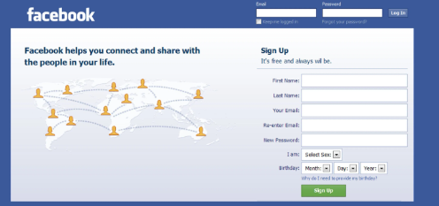 Facebook Login - Sign Up Facebook Login Page | How To ...