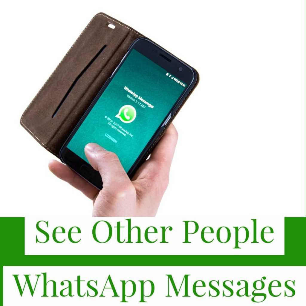 how to see other whatsapp messages