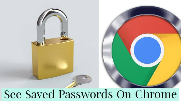 how to see saved passwords on chrome