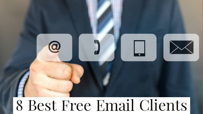 8 best free email client