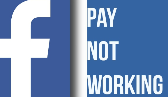 facebook pay not working