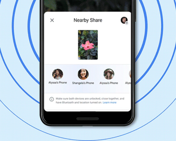 Google's Nearby Share Might Soon Support Multi-User Transfers