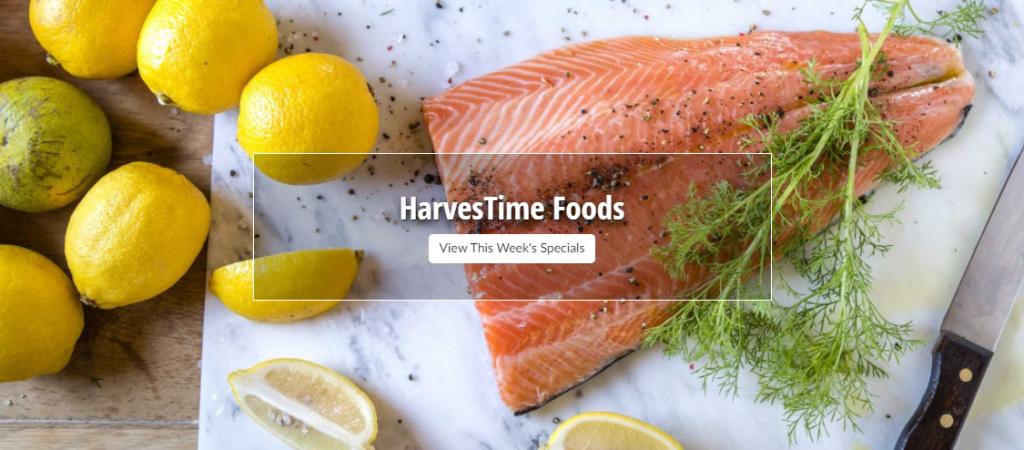 Harvest time foods