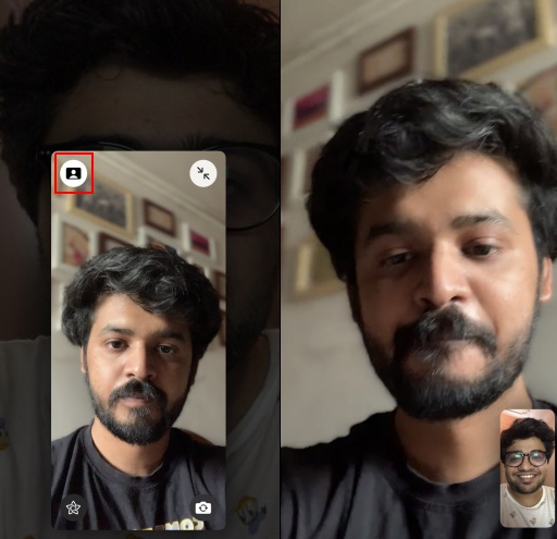 Blur Background in FaceTime Video Calls on iOS 15