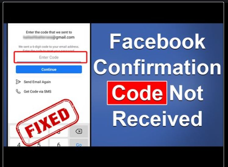 Facebook Security Check Confirmation Code Not Working
