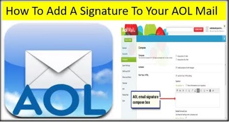 How to Add an Email Signature in Your AOL Mail 2021